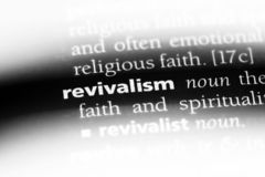 信仰复兴运动 免版税库存图片
