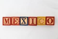 信件的安排形成一个词,版本111 免版税图库摄影