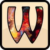 信件颜色设计艺术 免版税库存图片
