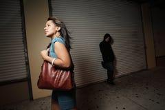 信任的妇女 免版税库存图片