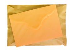 信函邮件程序包 库存照片