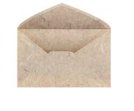 信包手工制造桑树纸张 库存照片