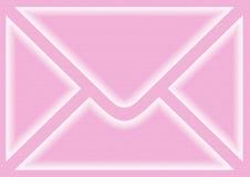 信包粉红色 库存图片