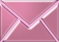 信包粉红色 免版税图库摄影