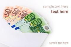 信包货币 库存图片