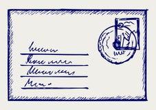 信包 皇族释放例证