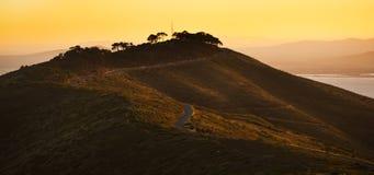 信号小山在开普敦南非 免版税图库摄影