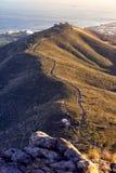 信号小山,开普敦,南非 免版税库存图片