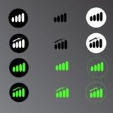 信号强度 免版税库存图片