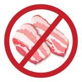 信号被禁止的烟肉 免版税库存图片