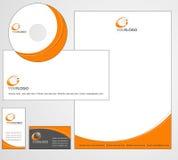 信头模板设计-向量 库存图片