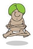 信奉瑜伽者 免版税库存图片