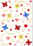 信念、爱和希望用德语 免版税库存照片