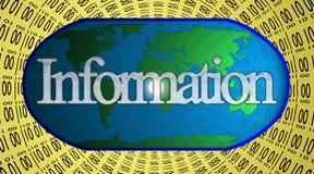 信息世界 图库摄影