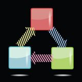 信息图表元素 免版税库存图片