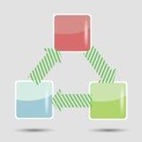 信息图表元素 库存图片