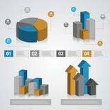 信息图表图 库存图片