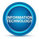 信息技术眼珠蓝色圆的按钮 向量例证