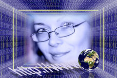 信息技术 图库摄影