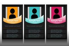 信息标签传染媒介 免版税图库摄影
