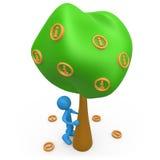 信息树 向量例证