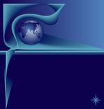 信息行星 免版税库存图片