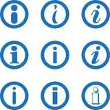 信息象汇集,信息标志,信件象,信息象汇集 库存例证