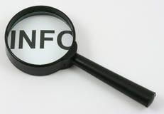 信息 免版税库存图片