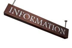 信息 免版税图库摄影