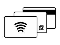 信用卡商标 库存照片