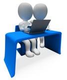 信用卡意味全球资讯网和买家3d翻译 库存照片