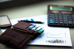 信用和折扣卡片 免版税库存照片