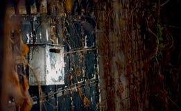信箱有抽象背景 库存照片