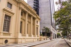 信件的巴西学院-里约热内卢 库存图片