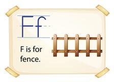 信件f 库存照片