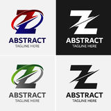 信件Z商标象设计模板元素 向量例证