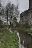 修剪城堡,修剪, Co Meath,爱尔兰, 29 01 18 库存图片
