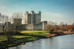 修剪城堡 县Meath 爱尔兰 库存图片