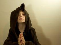 修士年轻人 免版税库存图片