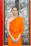 修士泰国年轻人 库存照片