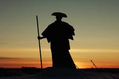 修士藏语 免版税库存照片