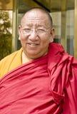修士西藏 免版税库存照片