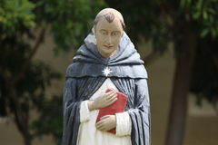 修士雕象 库存照片