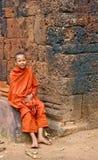 年轻修士 库存照片