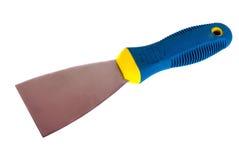 修平刀(建筑工具)在白色背景说谎 库存图片