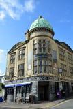 修建布赖顿英国的盛大中央剧院、酒吧&余兴节目 免版税库存照片