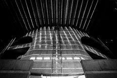 修建达卡的国民议会 库存照片