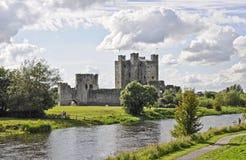 修整城堡 库存图片