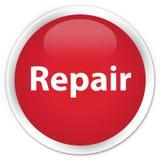 修理优质红色圆的按钮 图库摄影