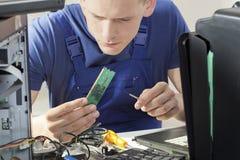 修理处理器 库存照片